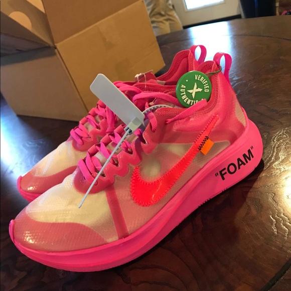Pink Off White Nike Zoom Flys | Poshmark